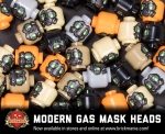 Modern Gas Mask Head