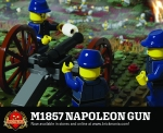 M1857 Napoleon Gun - Civil War Field Gun