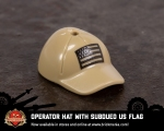 LEGO® Operator Hat with Subdued US Flag