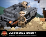 WWII Canadian Infantry