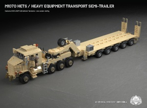 M1070 HETS - Heavy Equipment Transport Semi-Trailer