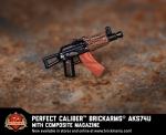 Brickmania Perfect Caliber™ AKS74u With Composite Magazine