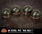BrickArms® M1 Steel Pot Big Red 1