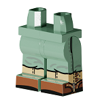 \\brickserver3\Brickserver3\Product Masters\Brickmania Printed Elements\BPE30054 - Minifig Hips and Legs Assembly PRINT WW2 US Marines Legs (Sand Green)
