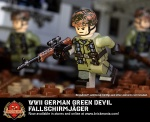WWII German Green Devil Fallschirmjäger