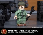 WWII US Tank Mechanic