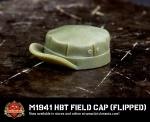 M1941 HBT Field Cap - Bill Flipped
