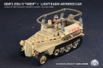 SdKfz 250/3 Greif - Light Radio Armored Car