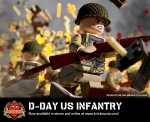 D-Day US Infantry - Minifig of the Month