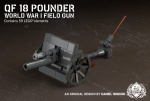 QF 18 Pounder - World War I Field Gun