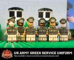 US Army Green Service Uniform