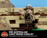 WWI Australian Light Horse Cavalry