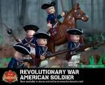Revolutionary War American Soldier - Minifig of the Month