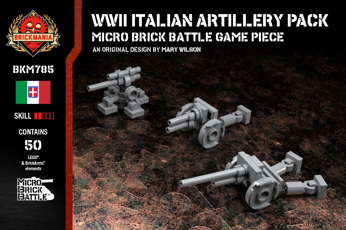 WWII Italian Artillery Pack