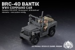 BRC-40 Bantik – WWII Command Car