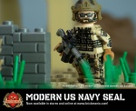 Modern US Navy SEAL - Minifig of the Month