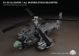 Ka-52 Alligator - All Weather Attack Helicopter
