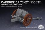 Cannone da 75/27 Mod 1911 - WWI Italian Field Gun