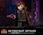 Retirement Officer with BrickArms M2019 Blaster Reloaded
