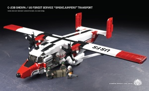 C-23B Sherpa - US Forest Service