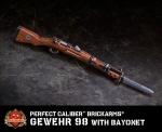Perfect Caliber™ BrickArms Gewehr 98 w/ Bayonet