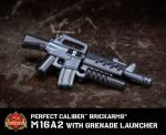 Perfect Caliber™ BrickArms® M16A2 with Grenade Launcher