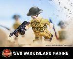 WWII Wake Island Marine